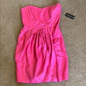 VINTAGE NWT Anne Klein II 100% linen dress 14